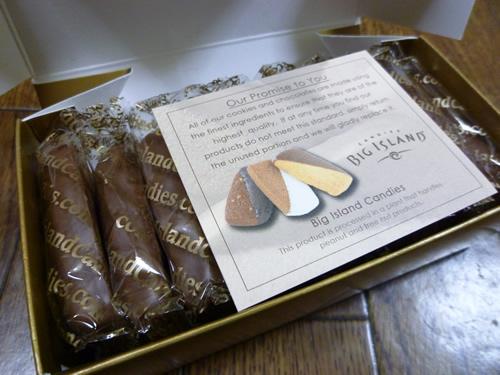 Hawaiian Macadamia Nut Chocolate Dipped Shortbread@Big Island Candies_c0152767_22122567.jpg