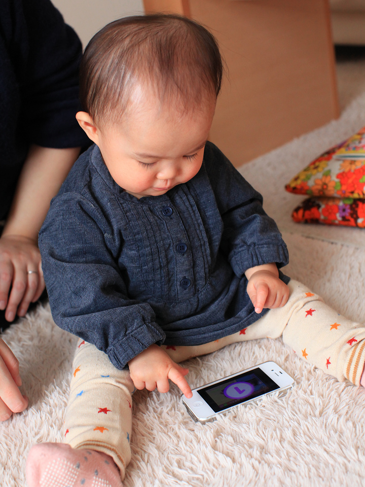 iPhoneのアプリを操作して お気に入りの音をだすなんてビックリ_a0160581_16344443.jpg