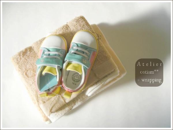 wrapping  ** ベビー靴 **_b0155684_22393270.jpg