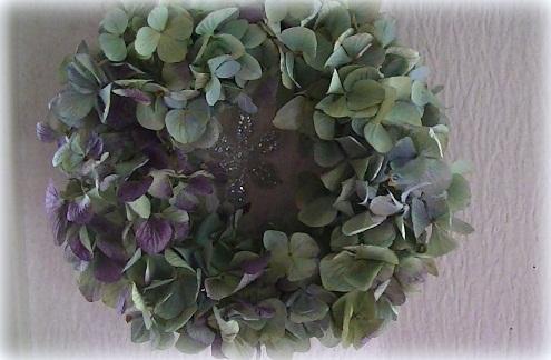 ふわふわ紫陽花ボリュームリース_c0207719_184811.jpg