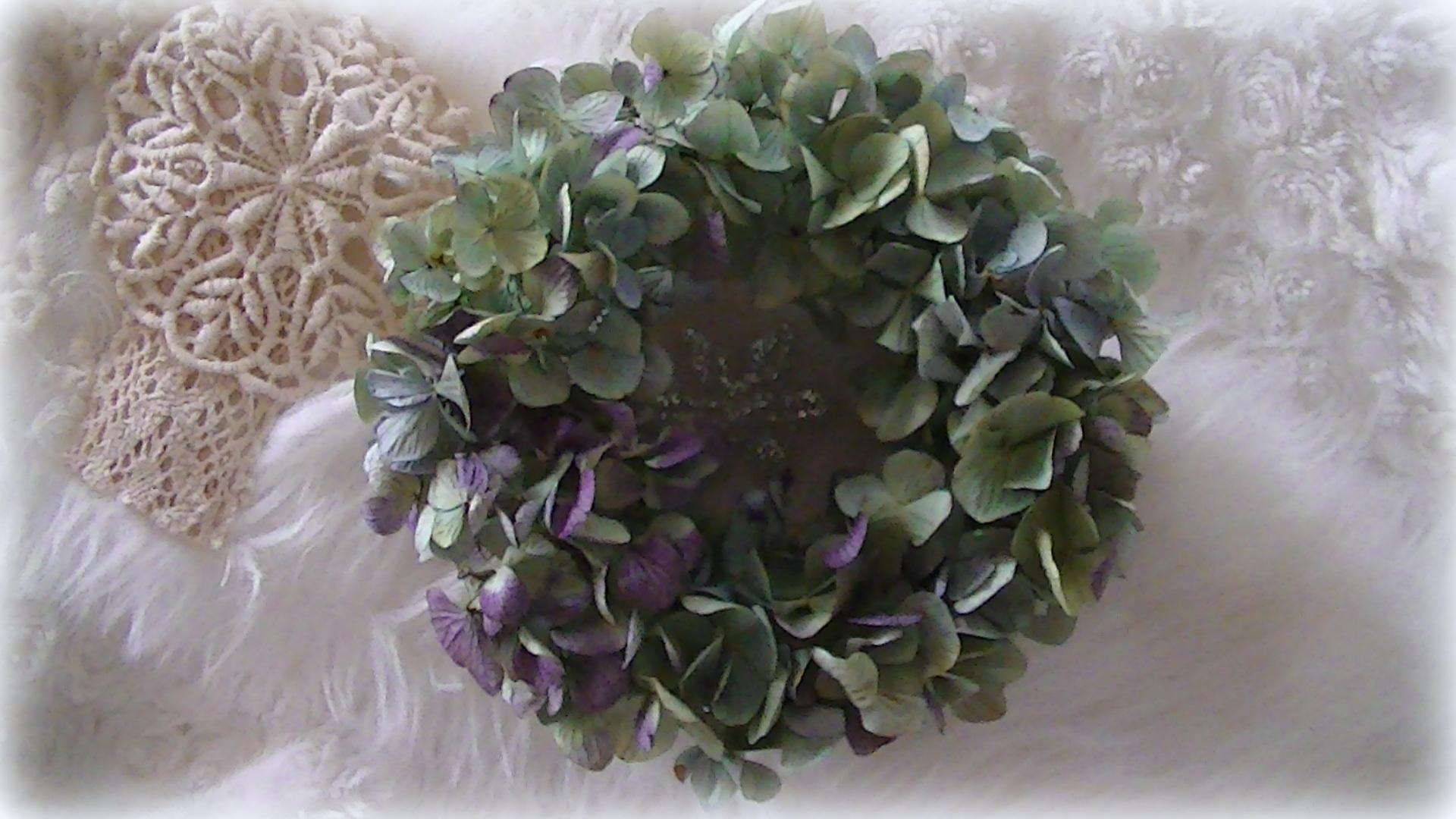 ふわふわ紫陽花ボリュームリース_c0207719_18483012.jpg