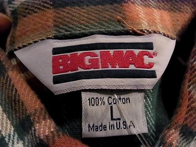 アメリカ仕入れ情報#10 デッドストック BIGMAC ネルシャツ!_c0144020_12204574.jpg