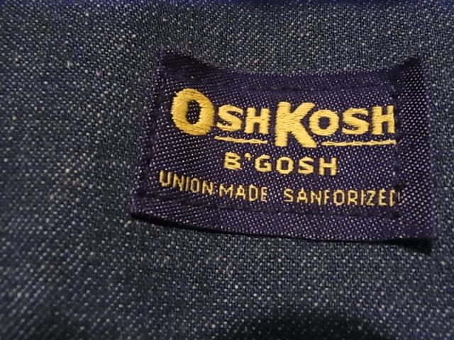 60'S OSHKOSH カバーオール_c0144020_1291943.jpg