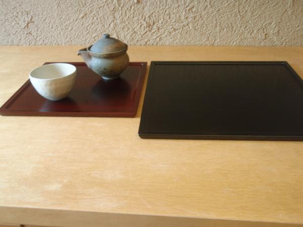 小林慎二さんの折敷き、お皿、高田谷将宏さんの飯茶碗_b0132442_1744694.jpg