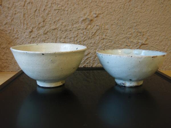 小林慎二さんの折敷き、お皿、高田谷将宏さんの飯茶碗_b0132442_17463343.jpg