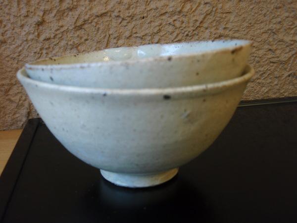 小林慎二さんの折敷き、お皿、高田谷将宏さんの飯茶碗_b0132442_17464941.jpg