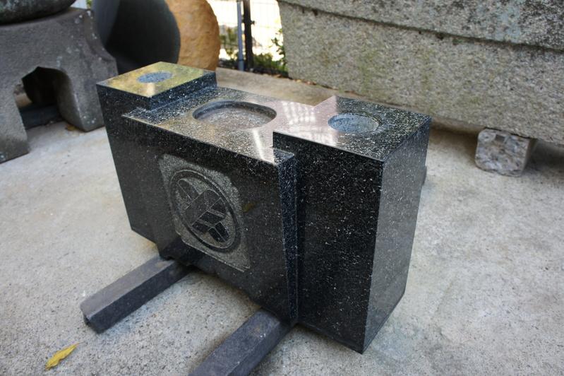 I家様 お墓のリフォーム工事  2012.11.21_e0223769_17301999.jpg