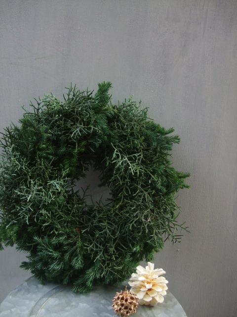 オークリーフ(クリスマスリース)_f0049672_17142167.jpg