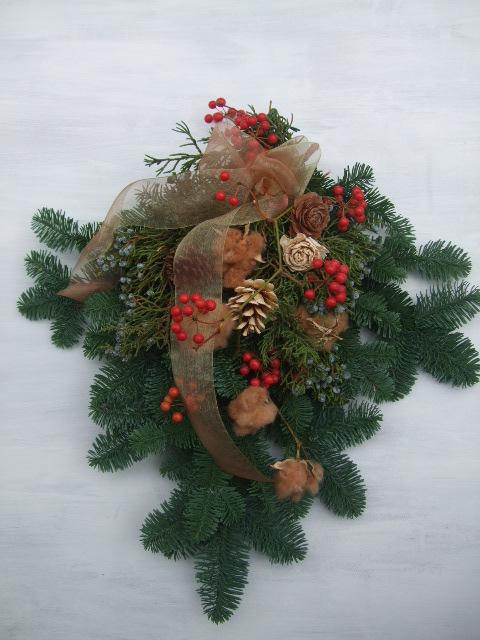 オークリーフ(クリスマスリース)_f0049672_1734428.jpg