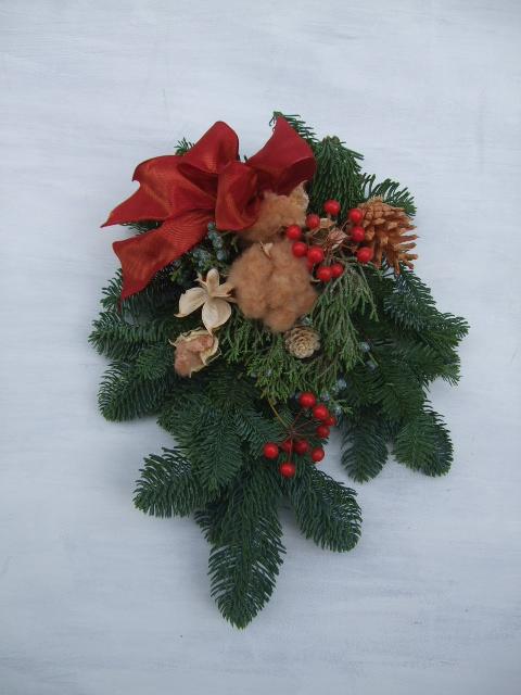 オークリーフ(クリスマスリース)_f0049672_1735782.jpg
