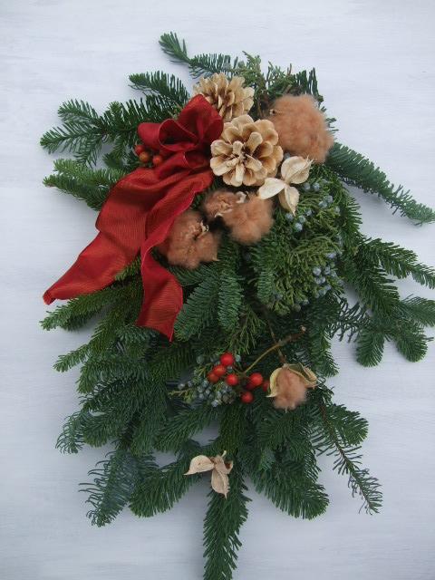 オークリーフ(クリスマスリース)_f0049672_17428100.jpg
