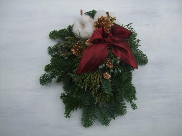 オークリーフ(クリスマスリース)_f0049672_1752543.jpg