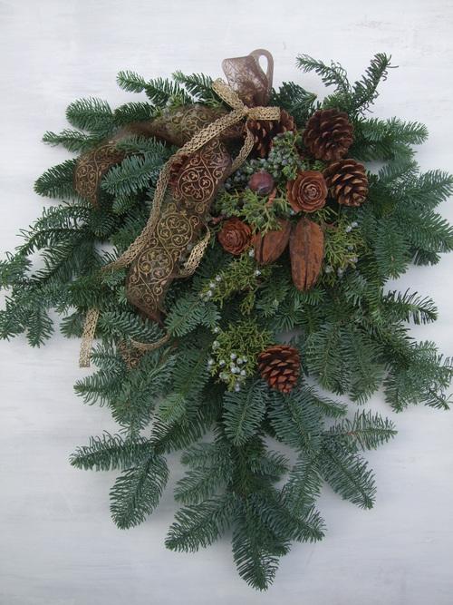 オークリーフ(クリスマスリース)_f0049672_178574.jpg