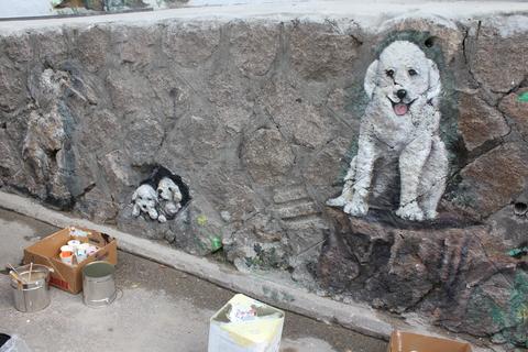 ソウルの駱山(ナッサン)公園から「路上美術館」へ、楽しい遠足_a0223786_18585595.jpg