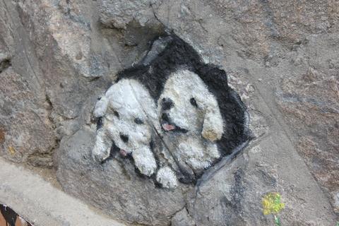 ソウルの駱山(ナッサン)公園から「路上美術館」へ、楽しい遠足_a0223786_1905833.jpg