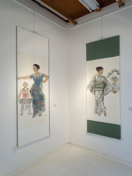 宗國仙嬌展「墨彩と素描~Vol.2」 作品紹介_e0184298_2104637.jpg