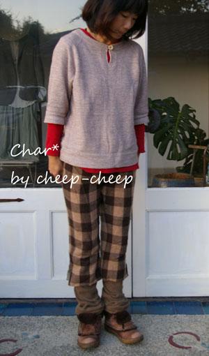 今日のChar*スタイル -color-_a0162603_12542650.jpg