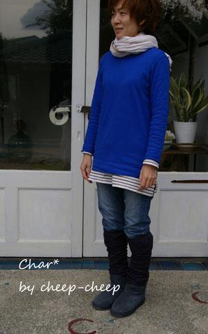 今日のChar*スタイル -color-_a0162603_1256342.jpg