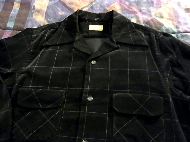 40'S マクレガー プリントコーデュロイシャツ!_c0144020_11524079.jpg