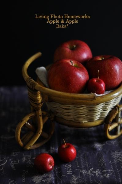 ポキ山写真教室 宿題編 -Apple & Apple-_c0250634_23173941.jpg