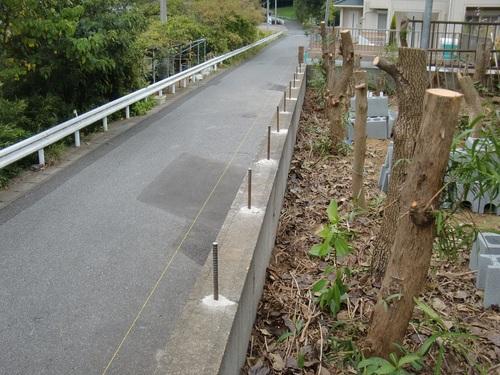 フェンス工事 ~ ブロック積み_d0165368_523333.jpg