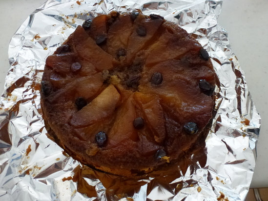 リンゴのケーキ_d0228610_22125561.jpg