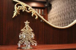 おしゃれな床屋のクリスマスの飾りつけ_e0145332_15181167.jpg