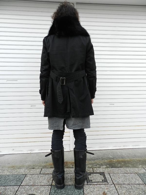 U.S. army cotton trench coat squat version snaps_f0226051_21365069.jpg