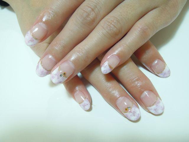 Marble Nail_a0239065_16162586.jpg