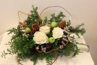 クリスマスアレンジが終わって・・・。_f0185066_2253174.jpg