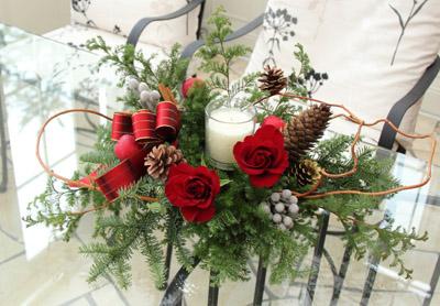 クリスマスアレンジが終わって・・・。_f0185066_2271553.jpg