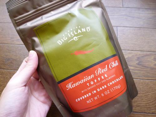Hawaiian Red Chili Toffee@Big Island Candies_c0152767_21542044.jpg
