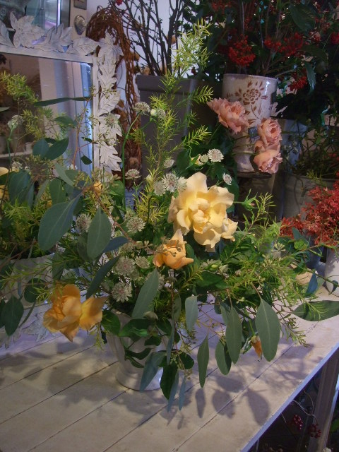 オークリーフ花の教室(落合さんと北条さんの作品)_f0049672_17255667.jpg