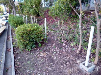 フェンス設置工事_c0092689_1733108.jpg