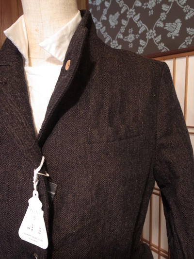 R & D.M.Co- LINEN WOOL JACKET, by Old Man\'s Tailor_e0248492_18374187.jpg
