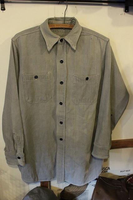 40's ネルシャツ。_d0121303_15314359.jpg