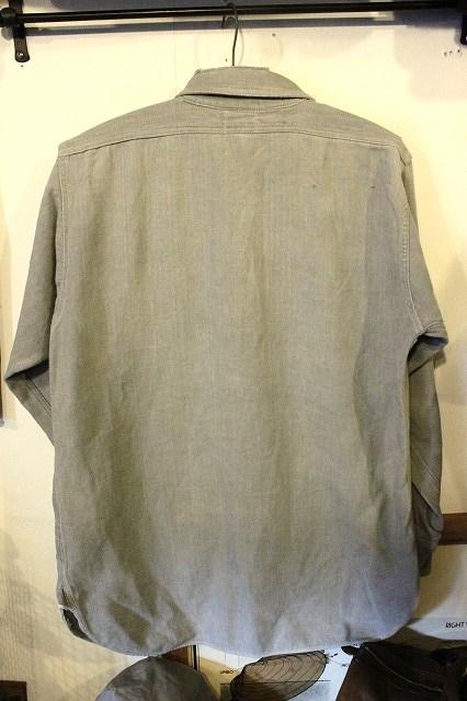 40's ネルシャツ。_d0121303_15315025.jpg