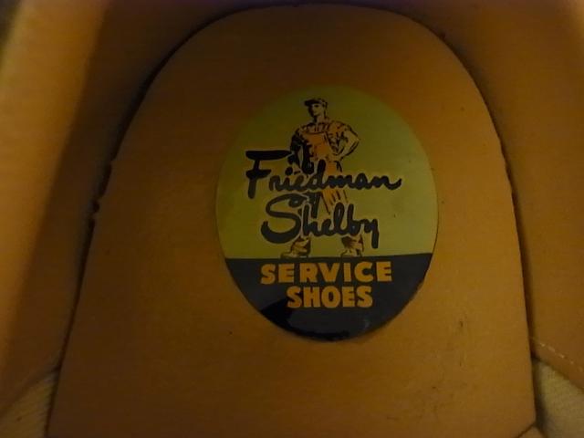 デッドストックシューズ!50'S Friedman Shelbyなど・・。_c0144020_10361385.jpg