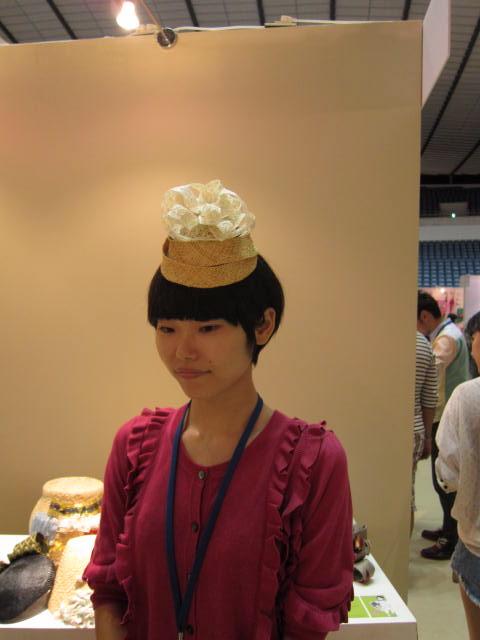 N     世界にひとつだけの帽子 _f0170424_9582030.jpg