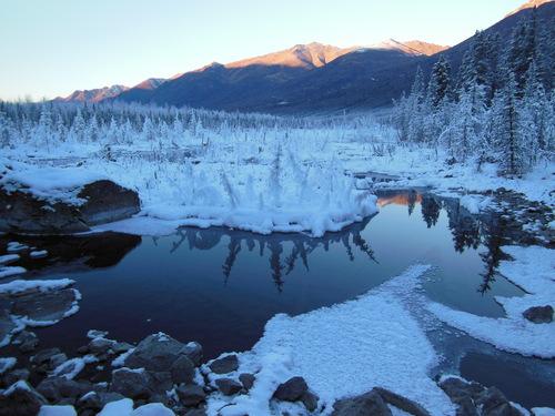 真冬のハイキング_b0135948_449467.jpg