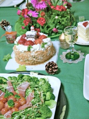 12月のすぴかパン教室 :クリスマスのテーブル_e0086864_21274890.jpg