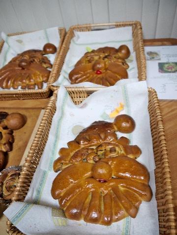 12月のすぴかパン教室 :クリスマスのテーブル_e0086864_2141812.jpg