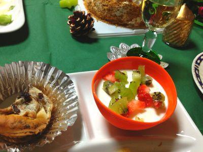 12月のすぴかパン教室 :クリスマスのテーブル_e0086864_22492035.jpg