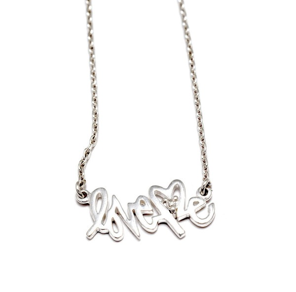 THE LOVE ME×BING BANG COLLABORATION NAMEPLATE NECKLACE_f0111683_2013093.jpg