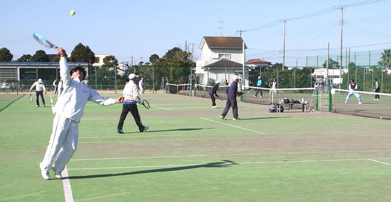 山武郡市シニアテニスクラブの忘年合宿_b0114798_9371496.jpg