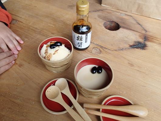 塩麹豚野菜炒め弁当と小豆島醤油のスィーツ_b0171098_840872.jpg