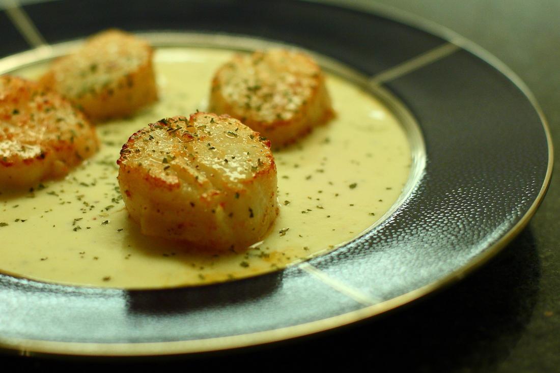 帆立貝のクリーム 煮_a0274805_23251963.jpg
