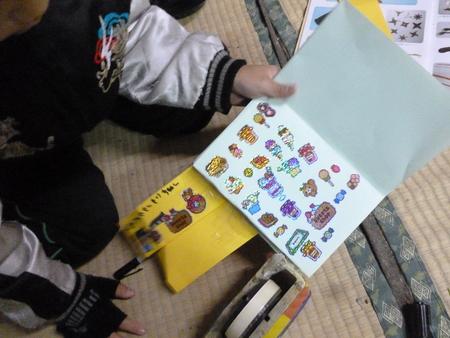 オシロイ花の種と絵本制作_c0217044_091641.jpg
