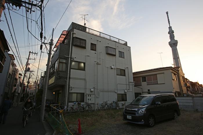 【NEX-7】 標準レンズの選択  スカイツリー・押上〜京島 実写編_c0035245_2105285.jpg