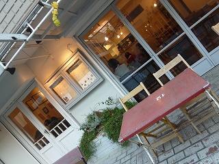 tea time  二子玉川その2 柳小路のカフェで♪_a0165160_6195934.jpg